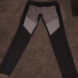 Reebok colorblock running tights leggings
